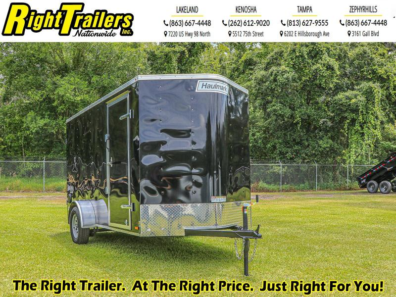 6x12 Haulmark Enclosed Cargo Trailer