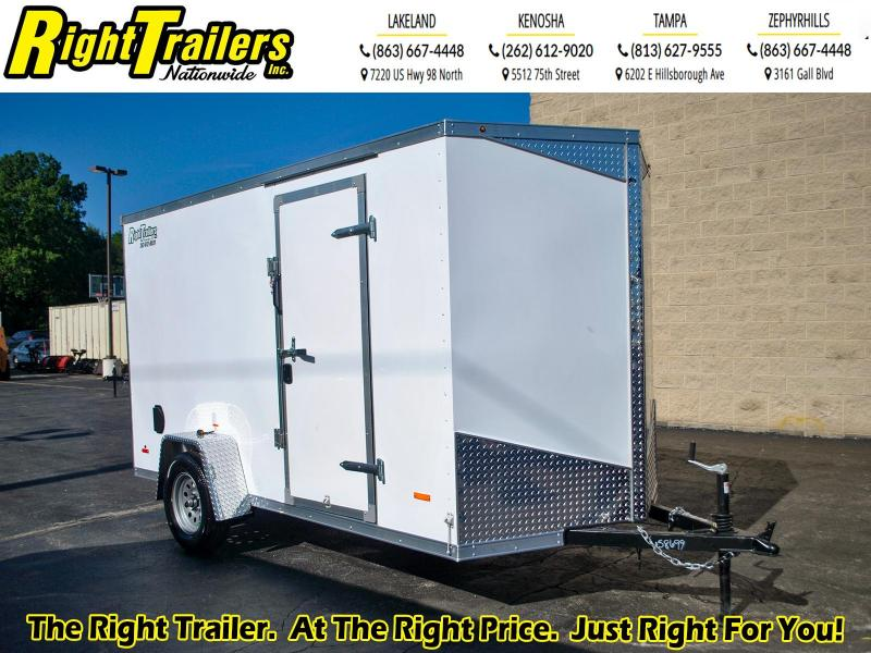 2020 RC Trailers 6 x 12 3K Enclosed Cargo Trailer