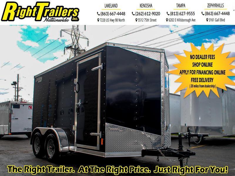 7X12 RC Trailers I Tandem Axle Enclosed Cargo Trailer