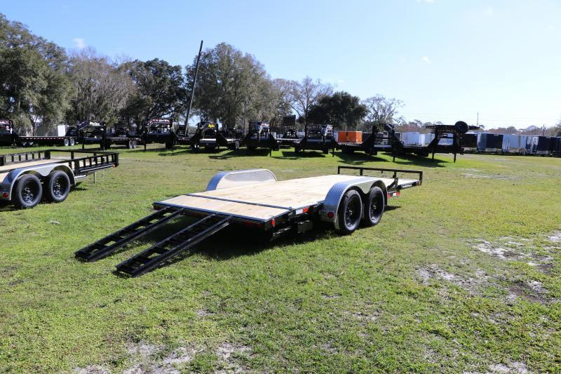 7x18 PJ Trailers | Open Car Hauler