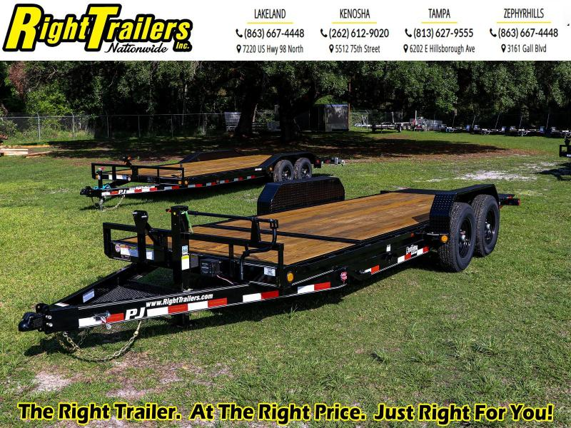 7 x 20 PJ Equipment Tilt Trailer