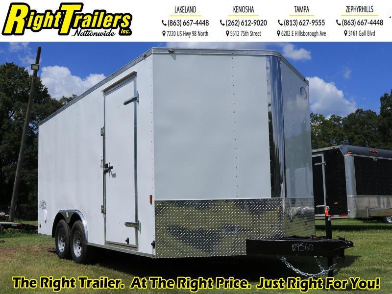8.5X16 Continental Cargo I Enclosed Cargo Trailer