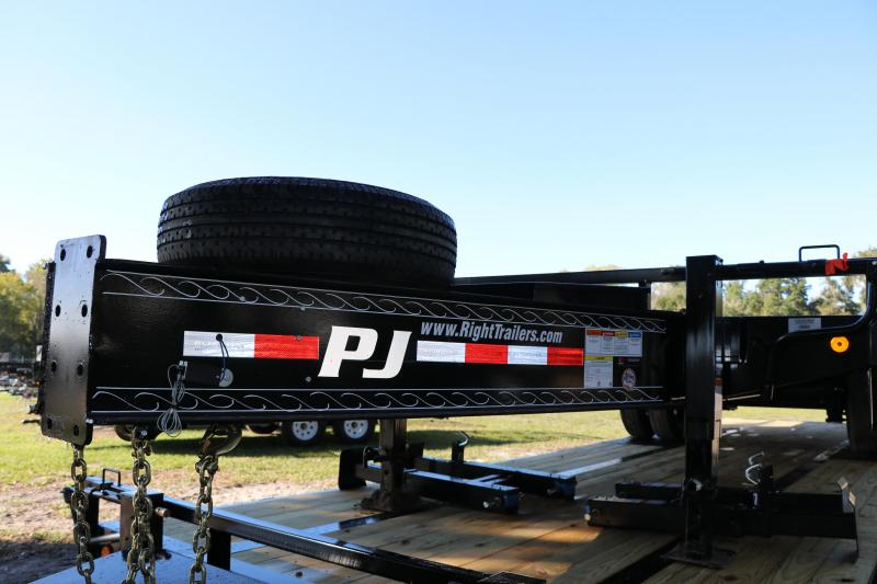 8.5x24 PJ Trailers | Flatbed Trailer