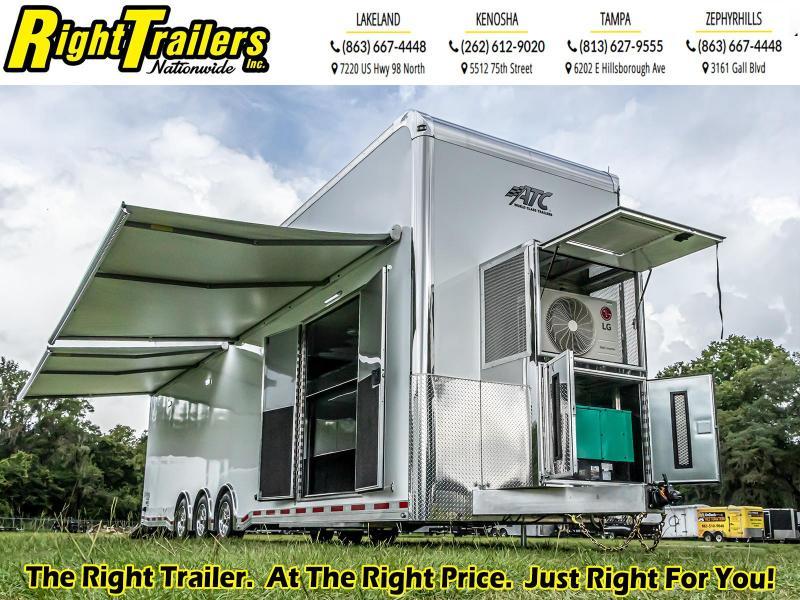 8.5X34 2021 ATC Quest Stacker I Enclosed Trailer