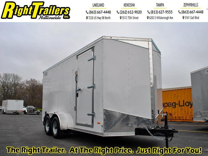 7 x 16 RC Trailers I 10K Tandem Axle Enclosed Cargo Trailer