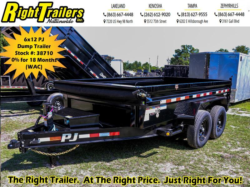 7X12 PJ Trailers I Dump Trailer