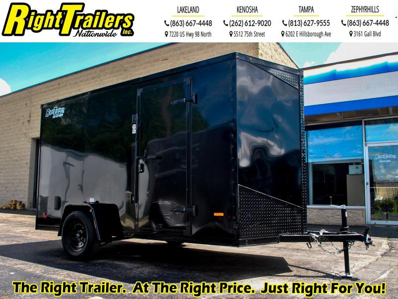 *58700* 6 x 12 RC Trailers I 3K Enclosed Cargo Trailer