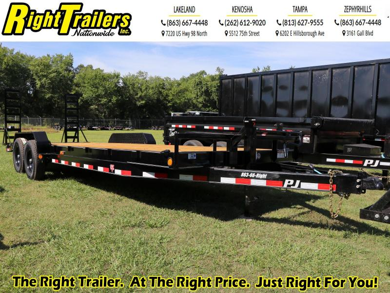 7X24 PJ Trailers 6 in. Channel Equipment (CC) Trailer