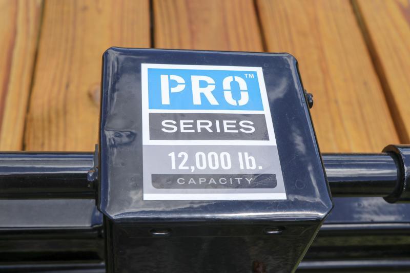 7X20 PJ Trailers 6 in. Channel Equipment (CC) Trailer