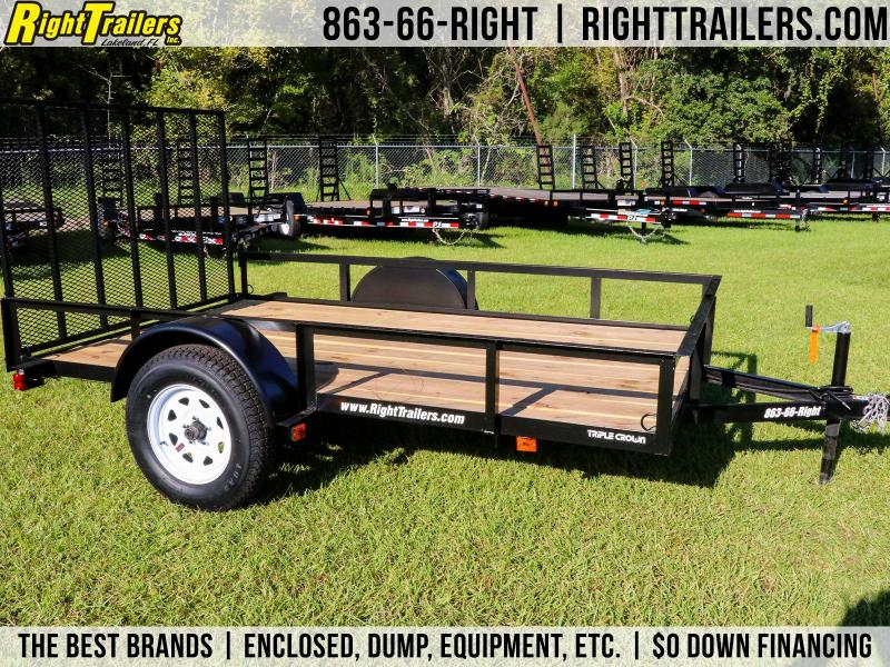 6X10 Red Hot I Utility Trailer