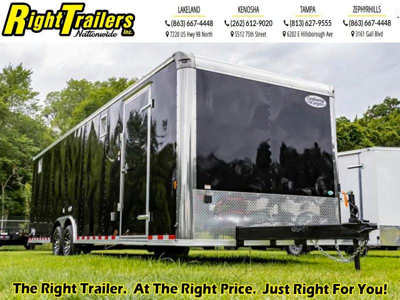 8.5X28 Continental Cargo I Enclosed Cargo Trailer