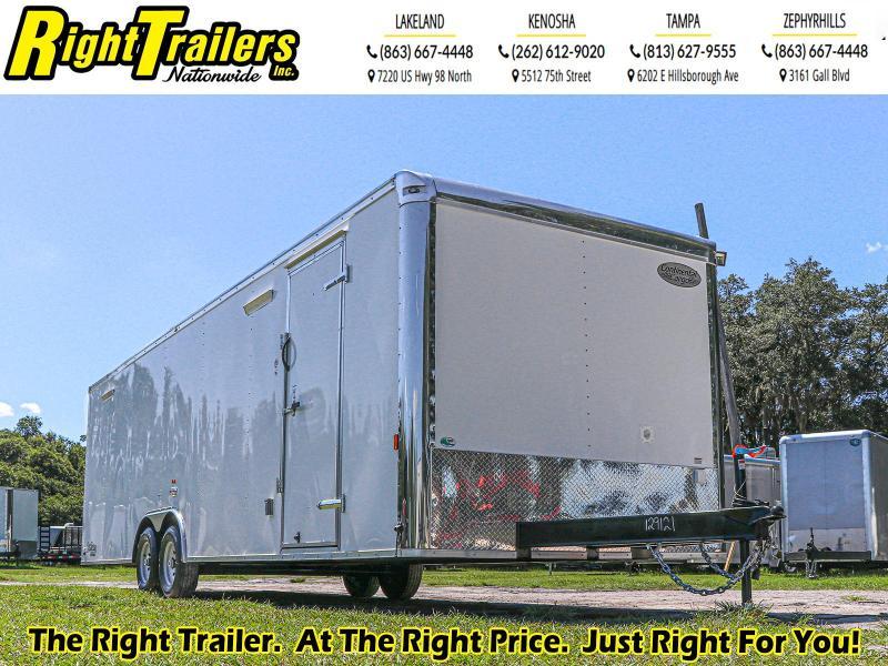 8.5x28 Continental Cargo - Enclosed Cargo Trailer