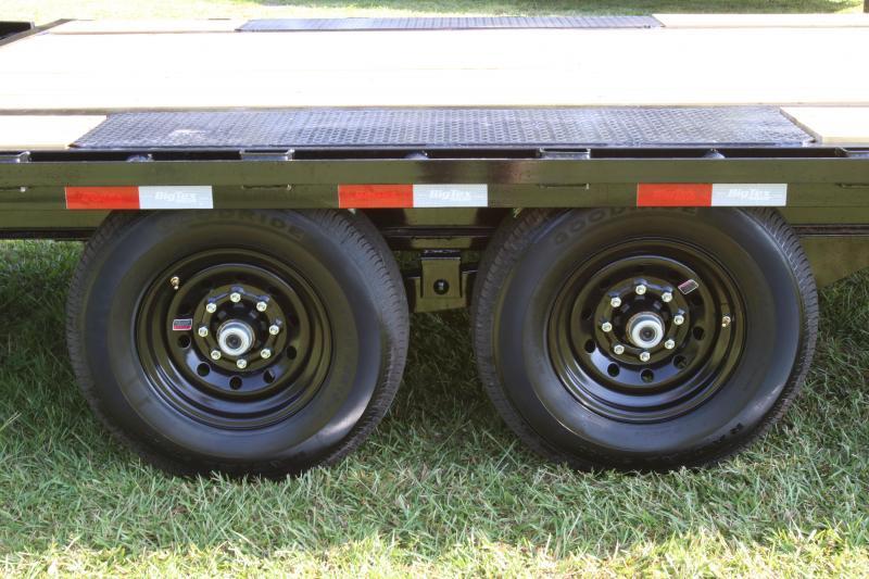 8x30 Big Tex   Equipment Trailer
