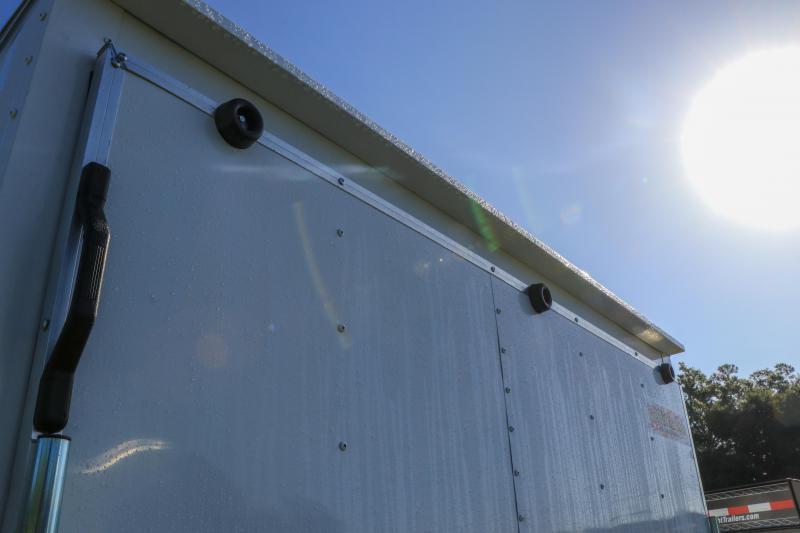 7X14 Red Hot I Enclosed Cargo Trailer