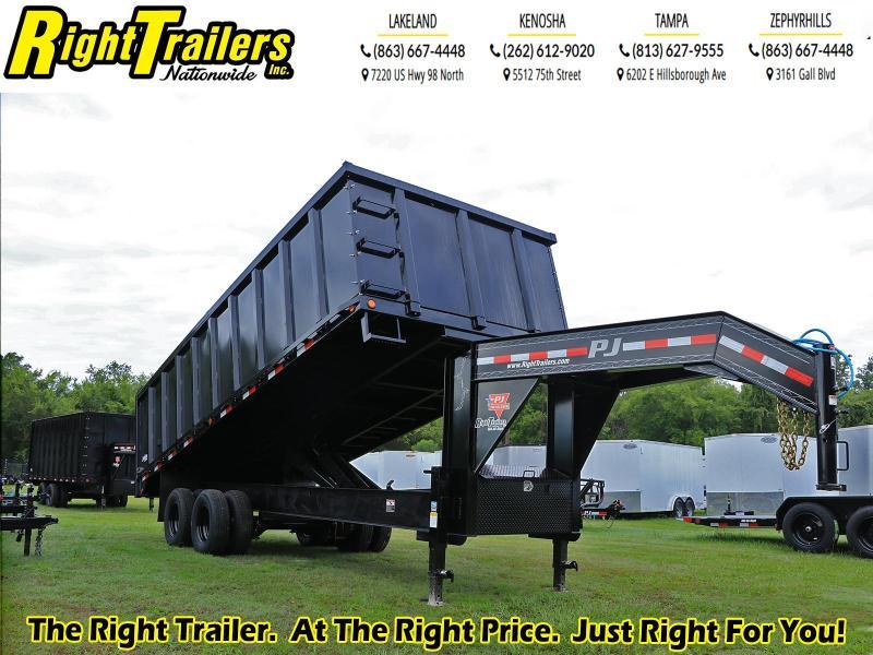 8X20X6 PJ Trailers Tandem Dual Dump (DD) Dump Trailer