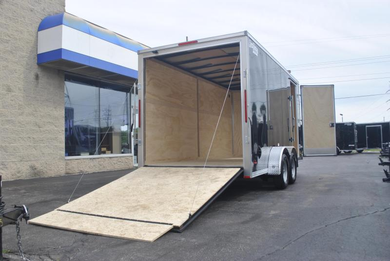 7X16 RC Trailers RDLX Enclosed Cargo Trailer