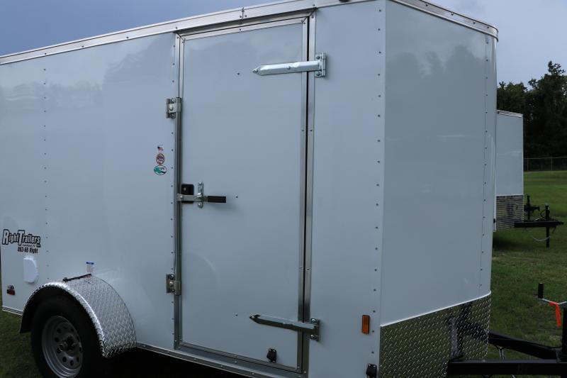 6X10 Continental Cargo I Enclosed Trailer