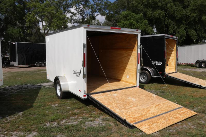 7x12 Red Hot Trailer I Enclosed Cargo Trailer