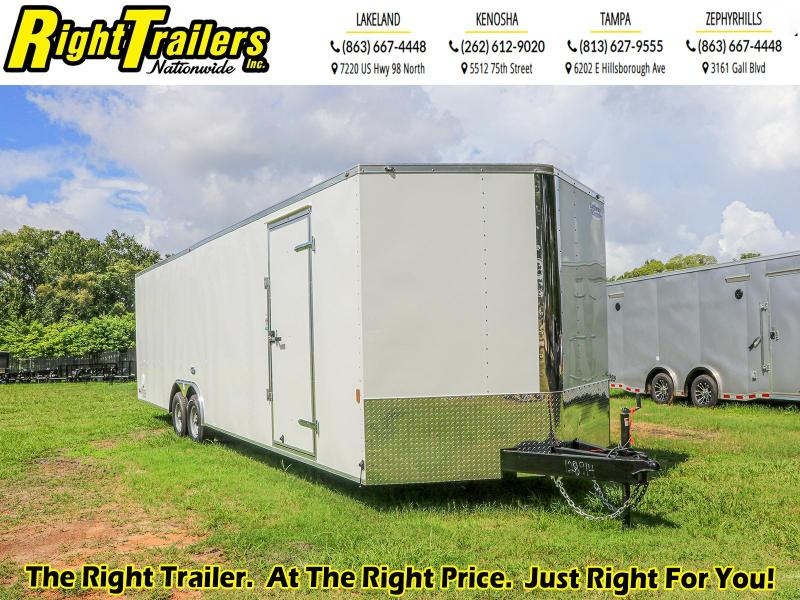8.5X28 Continental Cargo Enclosed Cargo Trailer