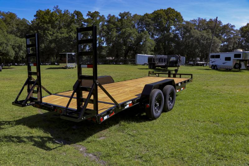 7x20 PJ Trailers 6 in. Channel Equipment (CC) Equipment Trailer