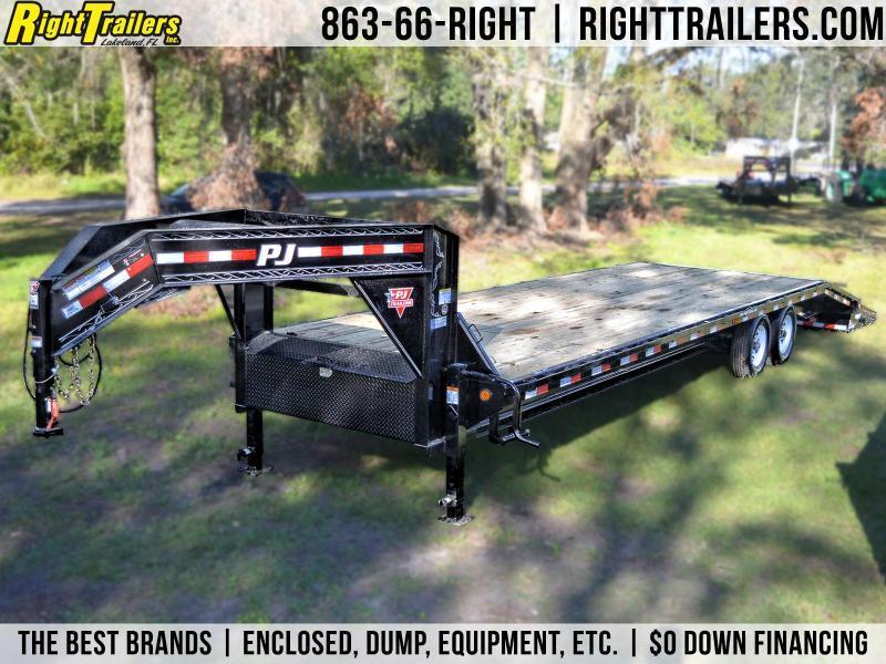 8.5x30 PJ Trailers | Equipment Trailer [Gooseneck]