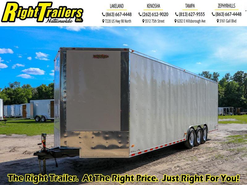 8.5x28 Red Hot I Enclosed Cargo Trailer