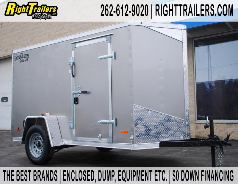 5 X 10 RC Enclosed Cargo Trailer