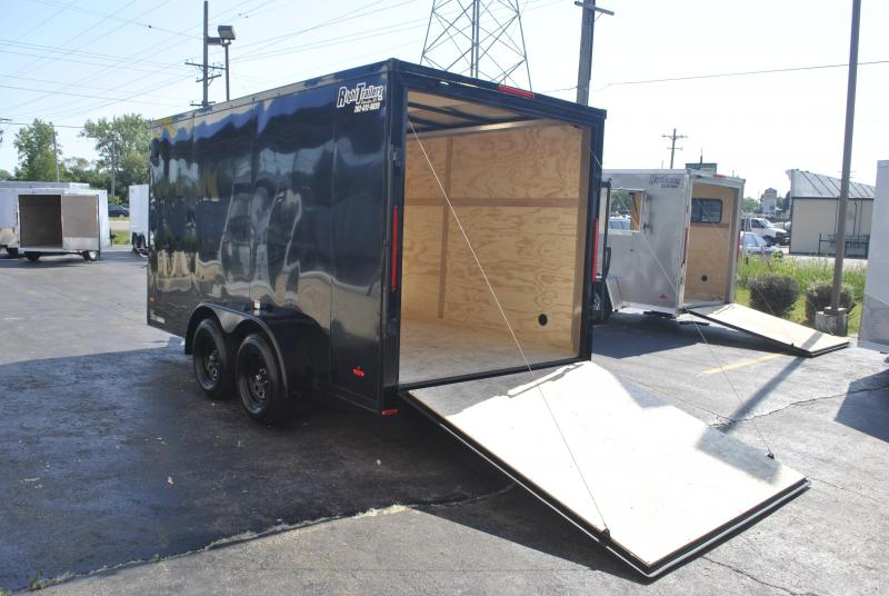 7X16 RC Trailers I Enclosed Trailer W/ BLACKOUT PACKAGE