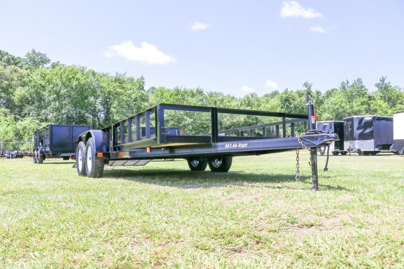 7x16 Red Hot Trailers | ATV Utility Trailer