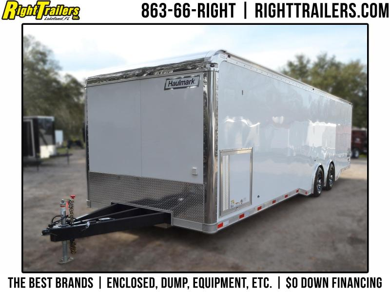 8.5x30 Haulmark EDGE Pro | Race Car Trailer