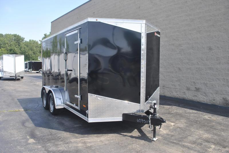 7X14 RC Trailers I 7K Tandem Axle Enclosed Cargo Trailer