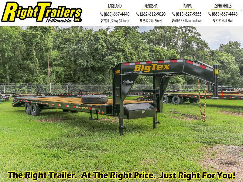 8.5X30 (25+5) Big Tex Equipment Trailer