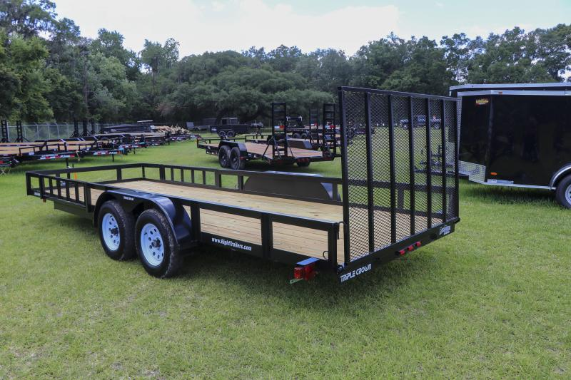 7x20 Red Hot Utility Trailer