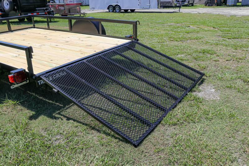 6x10 Red Hot Utility Trailer