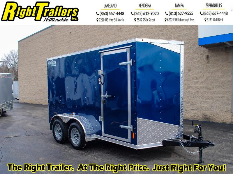 6 x 12 RC Trailers I 7K Tandem Axle Enclosed Cargo Trailer