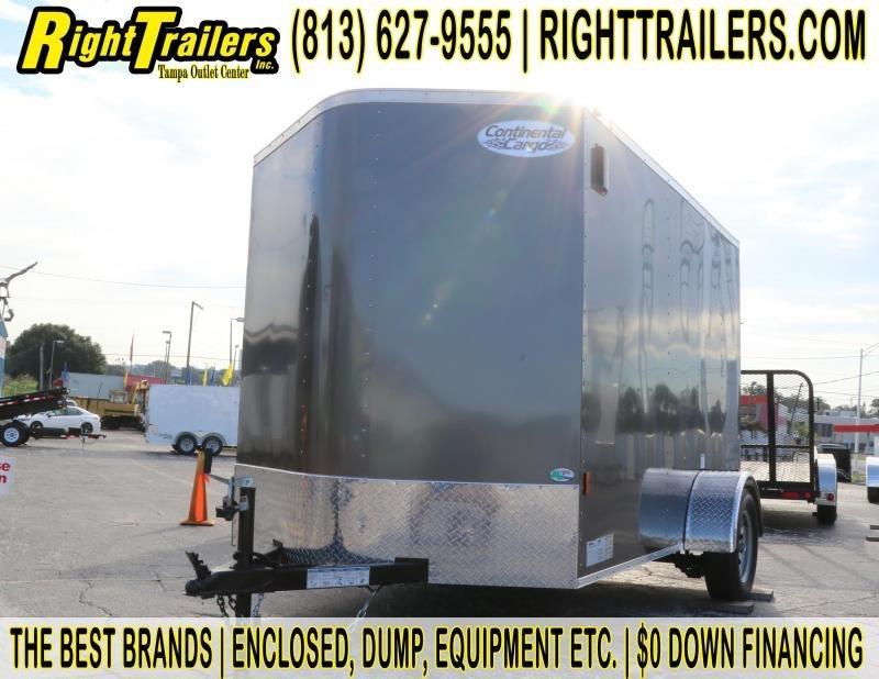 6x10x6.3 Continental Cargo | Enclosed Cargo Trailer