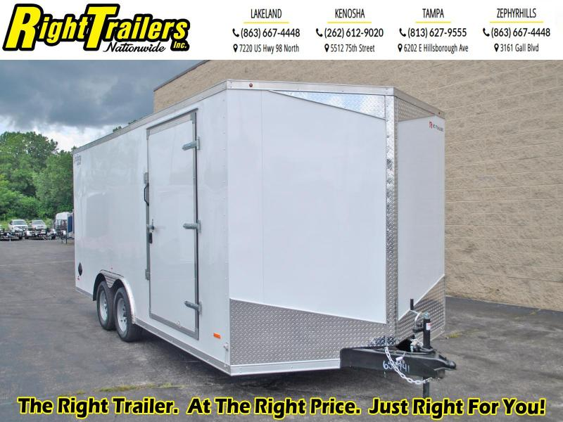 8.5X18 RC Trailers I Tandem Axle Enclosed Cargo Trailer
