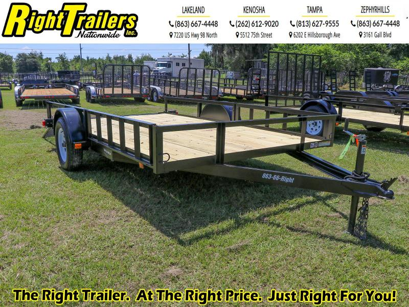 6x12 Red Hot ATV Utility Trailer