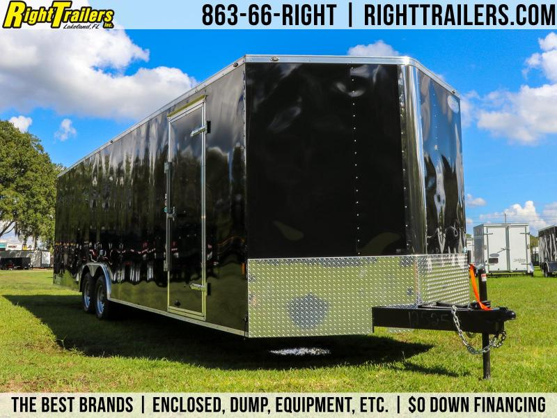 8.5x28 Continental Cargo | Enclosed Cargo Trailer