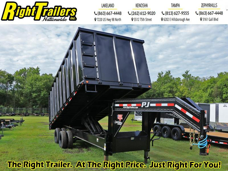 8X20X4 PJ Trailers Tandem Dual Dump (DD) Dump Trailer
