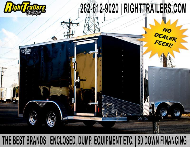 7x12 RC Trailers RDLX Enclosed Cargo Trailer