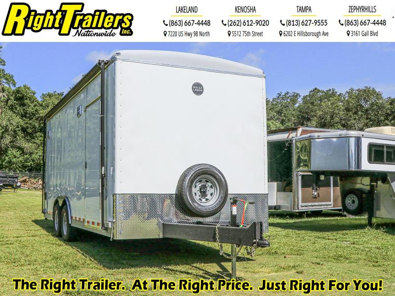8.5X20 Wells Cargo Enclosed Cargo Trailer