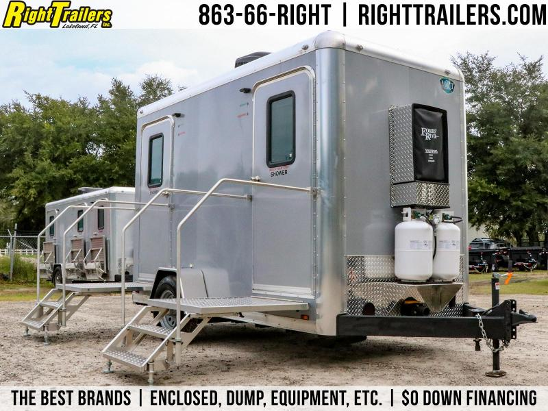 2-Station/ Shower Trailer Combo