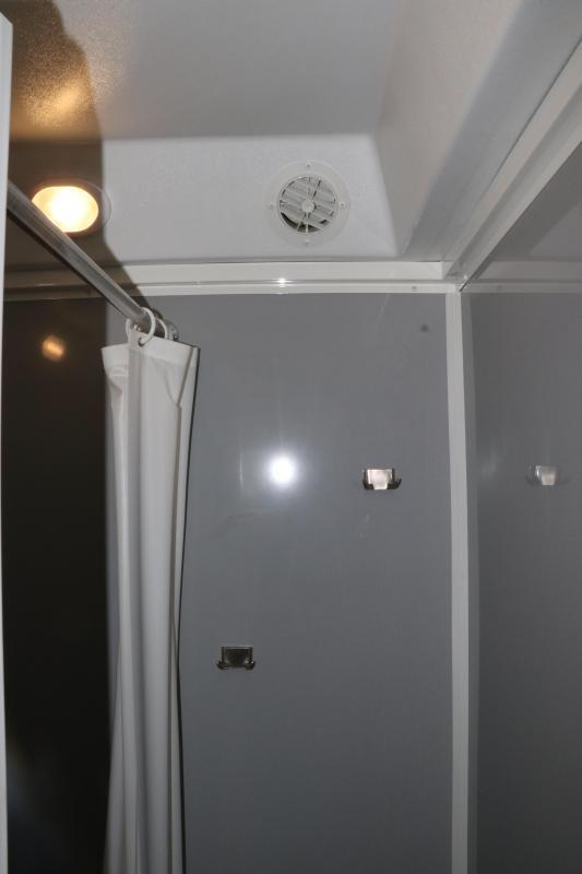 2-Station/ Shower Trailer Combo