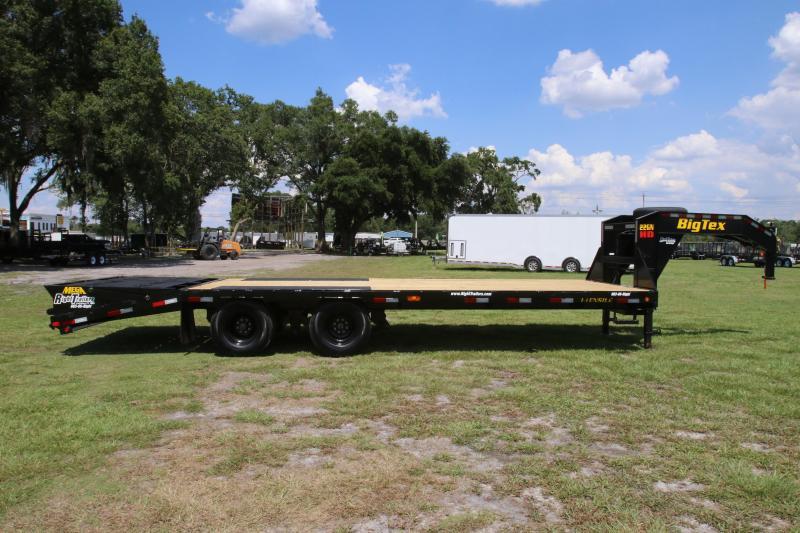 8.5x25 Big Tex   Equipment Trailer