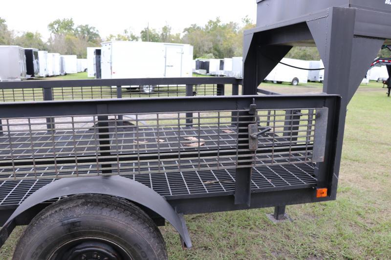 4x10 Home Built   Gooseneck Utility Trailer