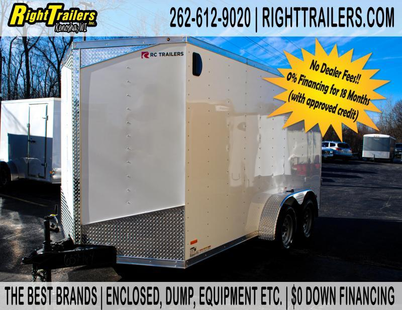 7X14 RC Trailers rdlx Enclosed Cargo Trailer