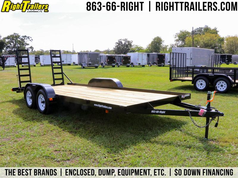 7x18 Red Hot Trailers | Utility Trailer