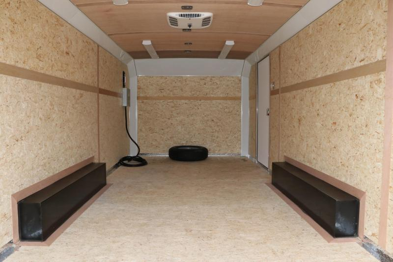 8.5x20 Haulmark | Grizzly Enclosed Racing Trailer
