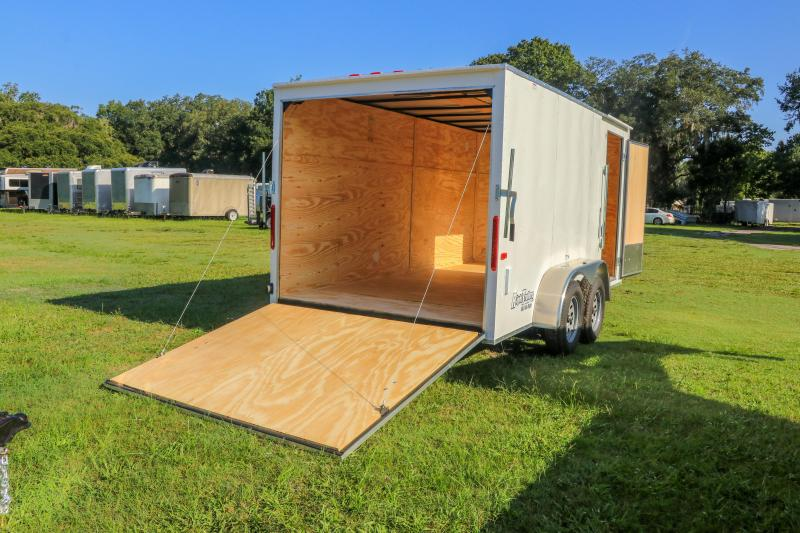 7X14 Red Hot Trailer I Enclosed Cargo Trailer